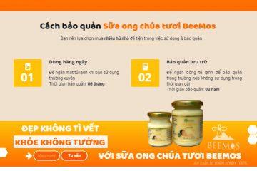 Cách bảo quản sữa ong chúa tươi nguyên chất