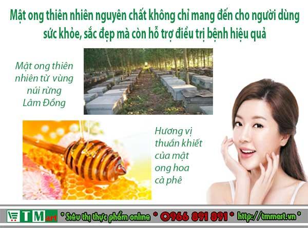 Công dụng của mật ong thiên nhiên nguyên chất