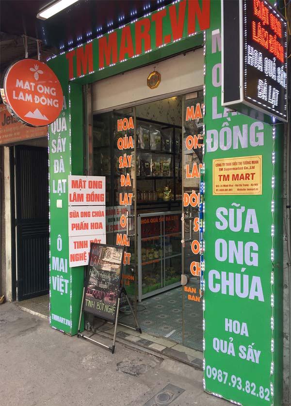 Showroom Mật ong Lâm Đồng BeeMos