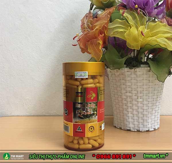 Sữa ong chúa Costar 1610mg + 6% DHA 365 viên