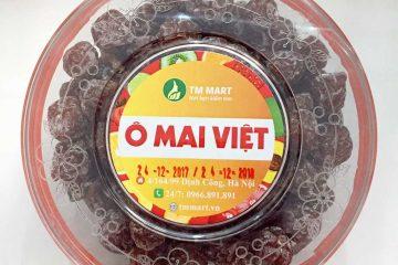 Ô mai mận cơm Thái đặc sản nhập ngoại được ưa thích