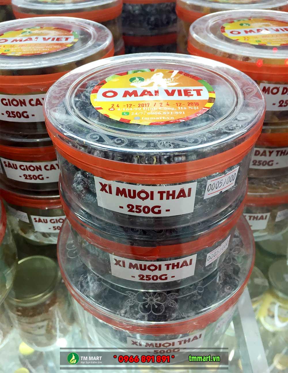 Ô mai xí muội Thái