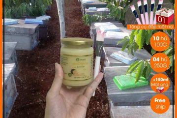 Bật mí về thành phần và công dụng của sữa ong chúa tươi