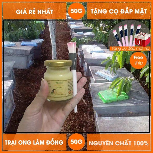 Sữa ong chúa tươi nguyên chất BeeMos 50g